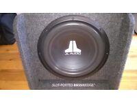 "JL Audio CP112 BassWedge 12"" 300W Single Ported Car Sub Subwoofer Bass Box"