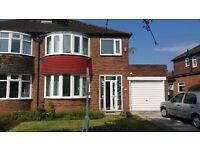 3 bedroom house to let Wythenshawe