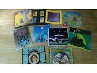 """8 x jon anderson / yes - LP's / 12"""" / cassette box set / tour progs"""