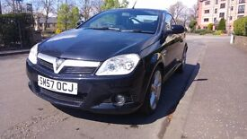 Black Vauxhall Tigra TwinTop Convertible 1.4 exclusive