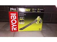 Brand new in box RYOBI petrol garden blower
