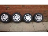 "Alloy wheels 14 "" Fiat punto,ford,alfa"
