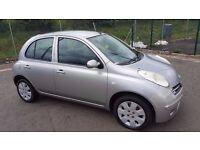 **Automatic** 2006 Nissan Micra 1.2 Petrol 5 Door Long MOT..