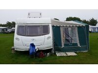 Lunar Lexon 585 si, 4 berth caravan in excellent condition, 2008 model.