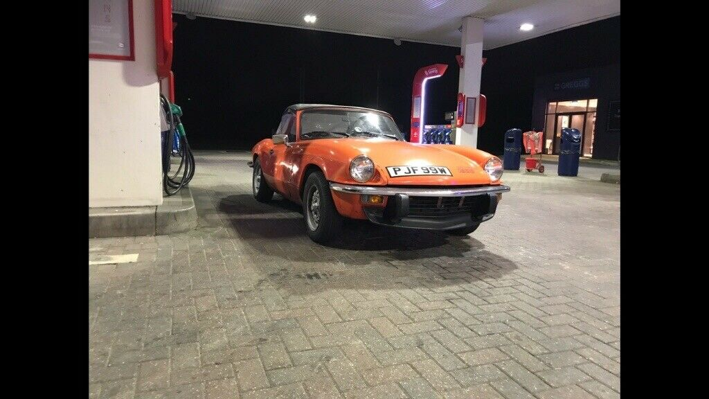 Triumph spitfire 1500 1981 rebuilt engine!   in Holyhead, Isle of Anglesey    Gumtree
