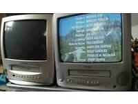 Old portable tvs