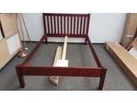 John Lewis Wilton Bed Frame, King Size, Dark RRP£225