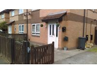 Large 3 bed semi saffron lane area for another 3 bed house with drive only