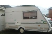 Abbey iona, special addition, 2 berth, lightweight, small caravan.
