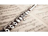 Instrumental tutor: flute, piano, Irish traditional flute/ tin whistle, theory
