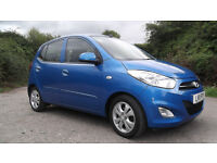 2011 Hyundai i10 Active 1.2, 5-dr, 39K miles, manual - great condition, £20 tax, 1 lady owner