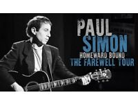 Paul Simon tickets at the SSE Glasgow Hydro on 11th July 2018