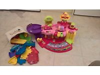 VTech Baby Toot-Toot Drivers Garage (Pink) £35. As new, pristine condition, hardly used - £35