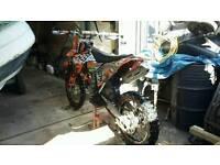 Ktm excf 250 2011 cr kx rm