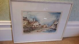 watercolour painting of North Shields