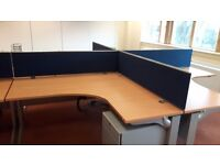 Office furniture executive managers office desks top spec