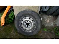 Iveco daily van tyre and rim