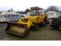 JCB 3C II BACKHOE LOADER, VERY GOOD WORKING CONDITION