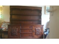 Priory dresser - with very small damage