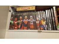 partial DC graphic novels collection
