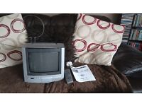 Panasonic TX - G10 portable colour television. Pal/Secam