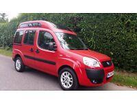 FIAT DOBLO 1.4 8v Dynamic 5dr (red) 2006