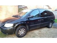 Chrysler Grand Voyager 2004 diesel automatic