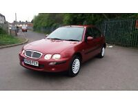 Rover 25 1.4 manual in mint condition fsh long mot & tax cheep litle runner