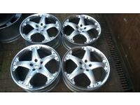 19 ANTERA ALLOY WHEELS 5 X 112 VW AUDI GOLF VITO MERCEDES SEAT VW T4 ETC