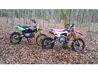 wpb 125 pitbike