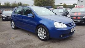 VW GOLF 2.0 GT TDI 6 SPEED 5 DOOR 2005 / CAMBELT DONE / FSH / 11 MONTH MOT