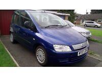 2007 Fiat Multipla Dynamic, 1.9 Multijet Diesel 120, A/C, 6 Seats MPV, Hist, 73K
