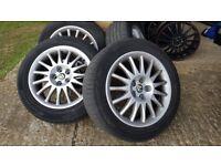 Alfa alloy wheels
