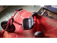 """Kids drift trike 16"""" in good conditions"""