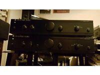 Cambridge Audio control amp and amplifier