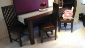 for sale table and sofa
