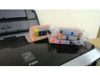Cheap Canon Prixma colour printer with Brand New inks INCLUDED for sale