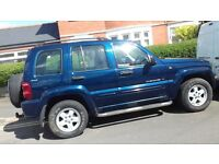 jeep cheeroke 3.7 lpg automatic