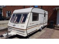 BAILEY PAGEANT MAGENTA 2 BERTH + COVER + Delivery Available + Perfect Condition - Serviced