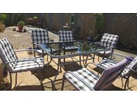 Patio Dining Set 6 Seater