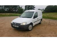 Vauxhall Combo 1.7 Di 1 years MOT service history rear windows in great condition for age