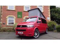 2012/12 VW Transporter SWB T5 4 Birth Pop Top Camper Van