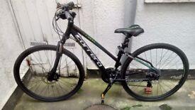 "Carerra Crossfire ladies hybrid 18"" bike"