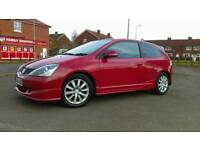 Honda Civic Sport rep Type R great condition, full MOT, full service history