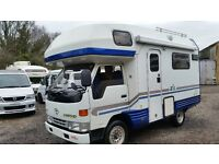 1999 TOYOTA CAMROAD 4 / 5 BERTH MOTORHOME AUTOMATIC 4WD FRESH IMPORT HIACE