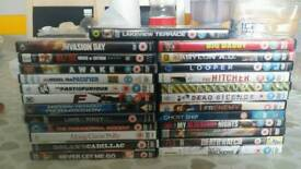 Job lot of 25 dvd in good condition