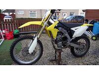 Motocross Suzuki rmz450