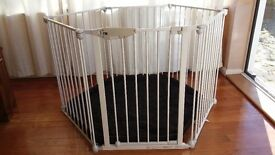 Mothercare play pen and room divider
