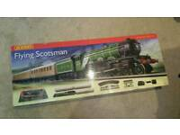 Flying scotsman 00 gauge electric train set Hornby