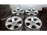 "19"" BMW Alloy wheels 5x120 9j10j Styl132"